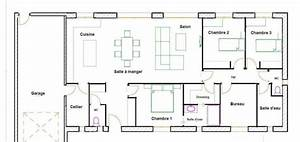 plan de maison 120m2 top plan de maison m tissu inoui With plan de maison 120m2 2 gallery of hot plan maison plein pied modles et plans de