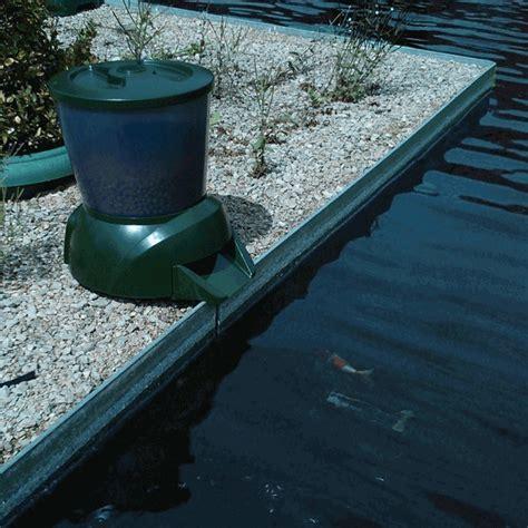 fish feeder pond pisces automatic koi pond fish feeder