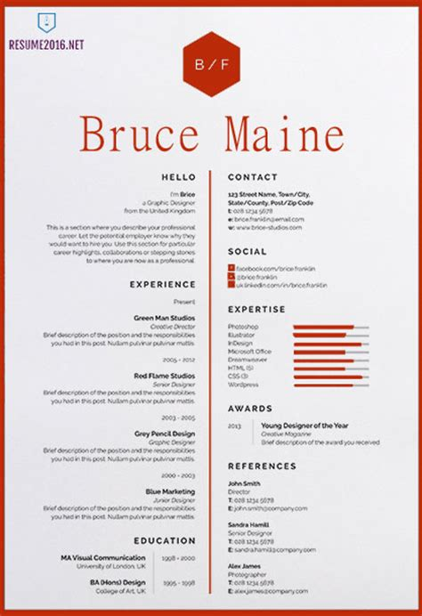 awesome resume templates   employed today