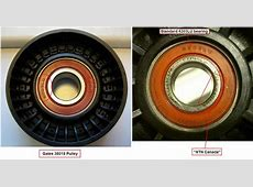 UPDATE Mechanical Tensioner Pulley Dayco 89133 vs Gates