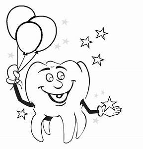 Tooth Fairy Coloring Pages Pictures to Pin on Pinterest ...