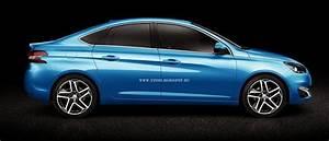 Peugeot 308 Sed U00e1n  Recreando La Silueta De La Berlina Derivada Del 308