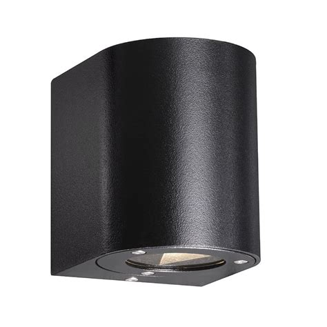 nordlux canto outdoor led wall light nordlux canto outdoor led wall light black