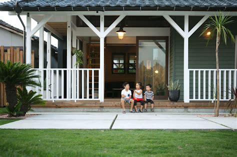 rumah kayu murah  keluarga kecil