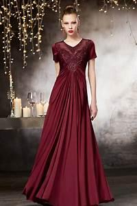 longue robe soiree bordeaux avec detail transparent au With robe de soiree bordeau