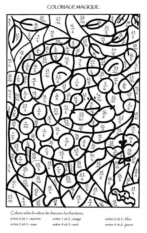 cuisine magique coloriage magique multiplication à colorier dessin à