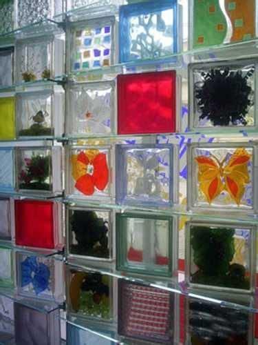 glass blocks wall ideas  pinterest glass