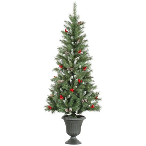 vickerman 27780 5 x 28 quot frosted tip mixed pine 150