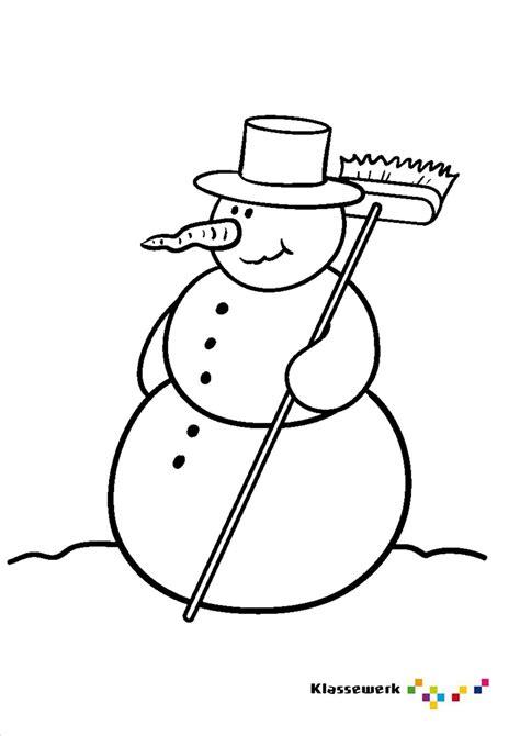 Kleurplaat Hoed Sneeuwman by Kleurplaat Sneeuwpop Thema Winter Sneeuwpop