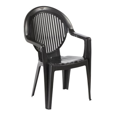 fauteuil monobloc fidji 2 anthracite 49440002 achat