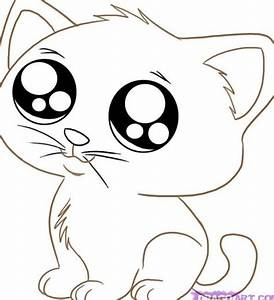 Cute Cartoon Animals With Big Eyes To Draw | Pets For ...