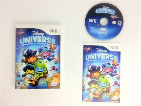 disney universe for wii complete the