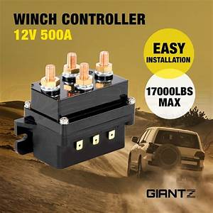 12v Winch Controller Solenoid 500a Dc Switch 4wd 4x4 Boat