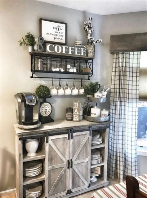You can create your personal unique coffee station right in your own kitchen utilizing your crucial coffee making devices. Cute Coffee Station Ideas - Searching for coffee bar ideas ...
