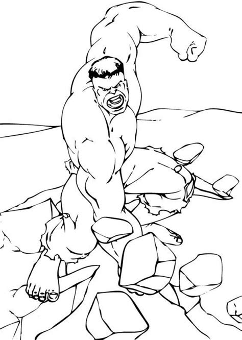 hulk coloring pages  boys