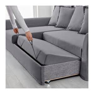 corner sofa bed holmsund corner sofa bed nordvalla medium grey ikea