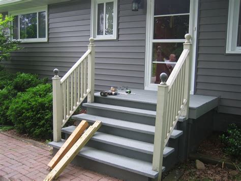 Porch Handrails by Railing Beautiful And Durable Lowes Porch Railing Designs