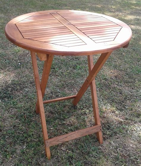 Garden Patio Table by Acacia Wood Folding Table For Garden Patio 75cm
