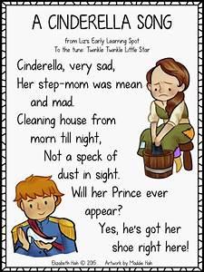 Classroom Freebies Too Cinderella Poem To The Tune
