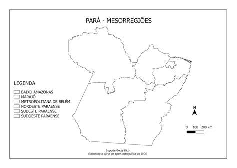 MAPA MESORREGIÕES DO PARÁ PARA COLORIR EMSuporte