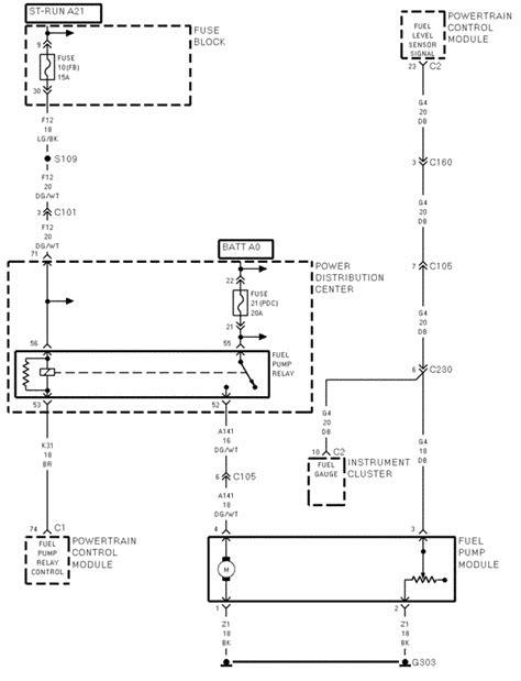 Dodge Neon Doc Engine Problem Fuel Pump Fuse