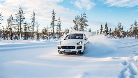 porsche winter wonderland carrrs auto portal