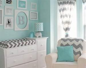 décorer chambre bébé, couleur chambre bébé garcon,