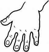Coloring Pages Hand sketch template