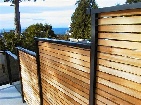 Privacy Deck Railing