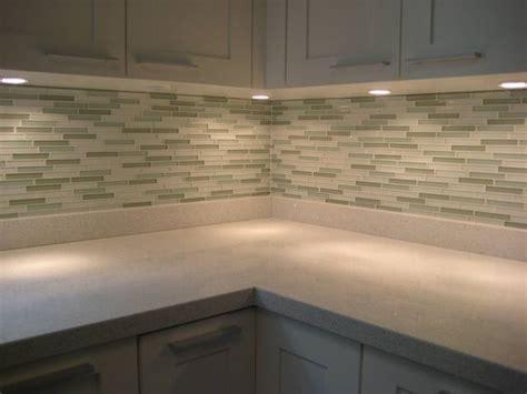 kitchen with glass backsplash kitchens backsplash toronto by masters