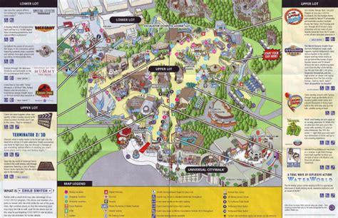 Universal Orlando Resort Park Maps - Universal Studios ...