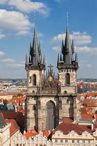 Churches Prague Czech Republic