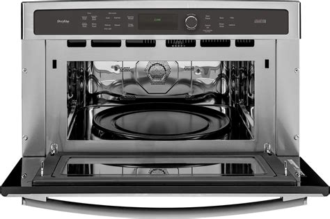 psbsfss ge profile series   single wall oven  advantium technology stainless steel