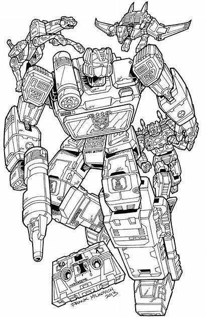 Coloring Soundwave Pages Transformers Transformer Decepticon Tattoo