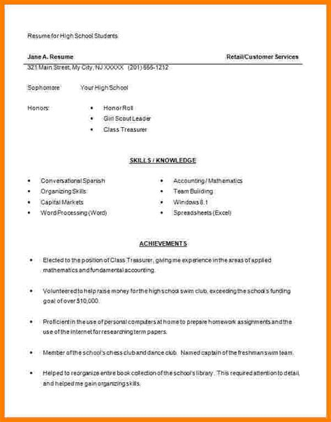 Professional Resume Format Exles by 9 Excel Resume Templates Professional Resume List