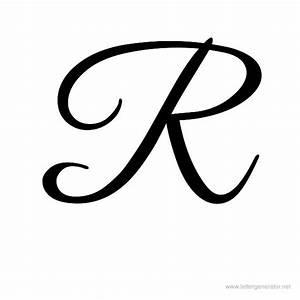 7 Best Images of Fancy Font Letters Script R - Cursive ...