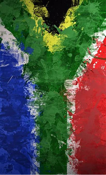 South African Africa Flag Flags Wallpapers Desktop