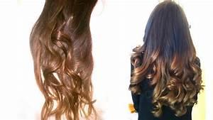 Ombré Hair Marron Caramel : how to ombr hair maison easy youtube ~ Farleysfitness.com Idées de Décoration