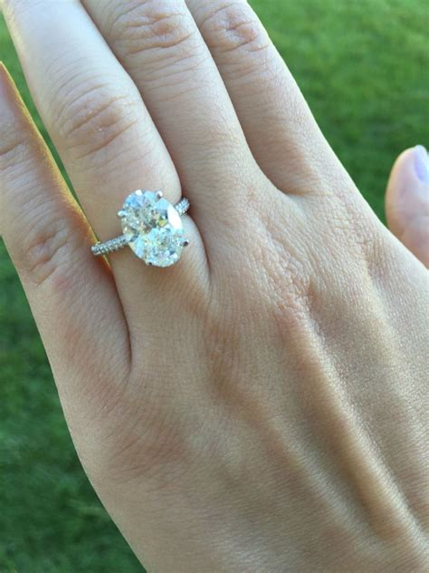 144 best images about ring oval engagement rings on