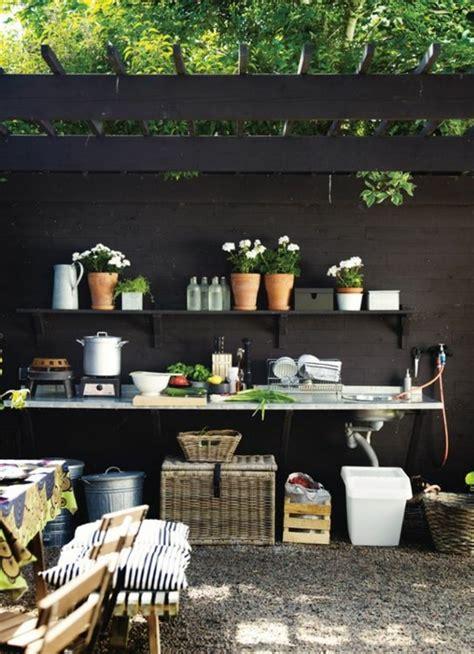 plan cuisine exterieure d ete 1001 idées d 39 aménagement d 39 une cuisine d 39 été extérieure
