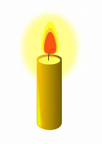 Candle Clipart Flame Transparent Wax Beeswax Clip