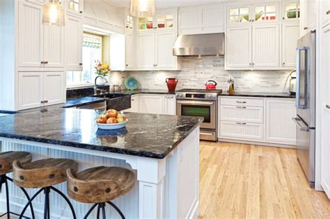 light wood floors with kitchen cabinets 7 attractive kitchens with light wood floors of the home 9883