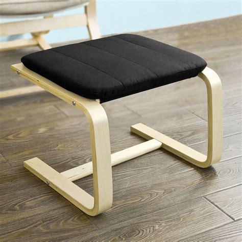 sobuy fauteuil à bascule chaise longue repose pieds