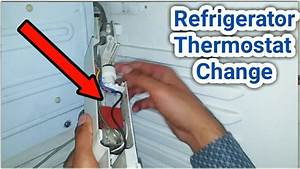 How To Change Refrigerator Thermostat With Connection In Urdu  Hindi