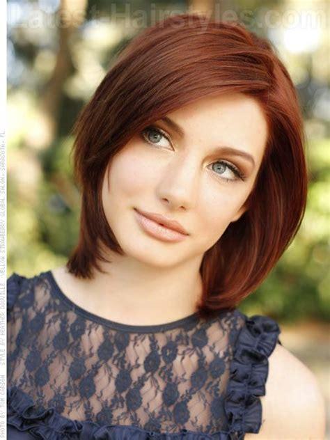 hair styles gorgeous medium length hairstyles for winter 2013 8204