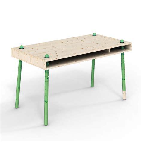 bureau enfant vert caspar bureau enfant 233 volutif pieds verts perludi pour