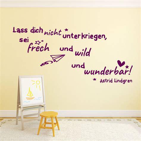 Wandtattoo Kinderzimmer Pippi Langstrumpf by Wandtattoo F 252 Rs Kinderzimmer Zitate Astrid Lindgren