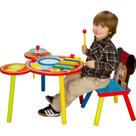Disney Mickey Mouse Musical Set 11 disney mickey mouse musical table and chair set walmart
