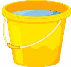 Yellow clipart pail - Pencil and in color yellow clipart pail