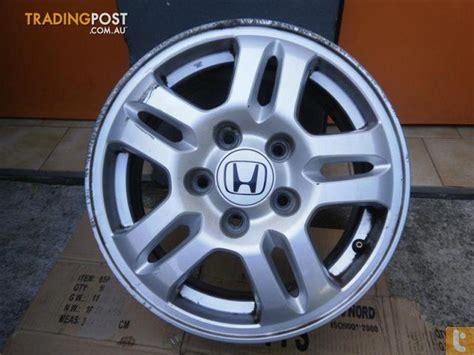 Mag Wheels Honda Crv Sports 15inch Genuine Alloy Wheels
